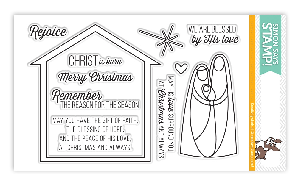 Simon Says Clear Stamps NATIVITY sss101437 zoom image