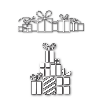 Simon Says Stamp Dies Set DETAILED GIFTS SetDG132