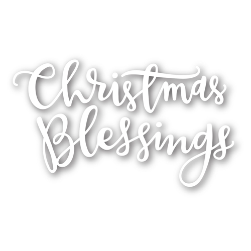 Simon Says Stamp CHRISTMAS BLESSINGS Craft Dies sssd111380 Preview Image