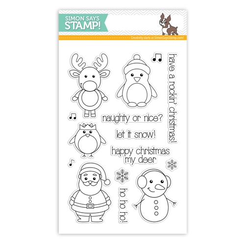 Simon Says with Clearly Besotted Clear Stamps WINTER FRIENDS sss101456 Preview Image