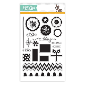 Simon Says Clear Stamps PRESENTS AND ORNAMENTS sss101441 *