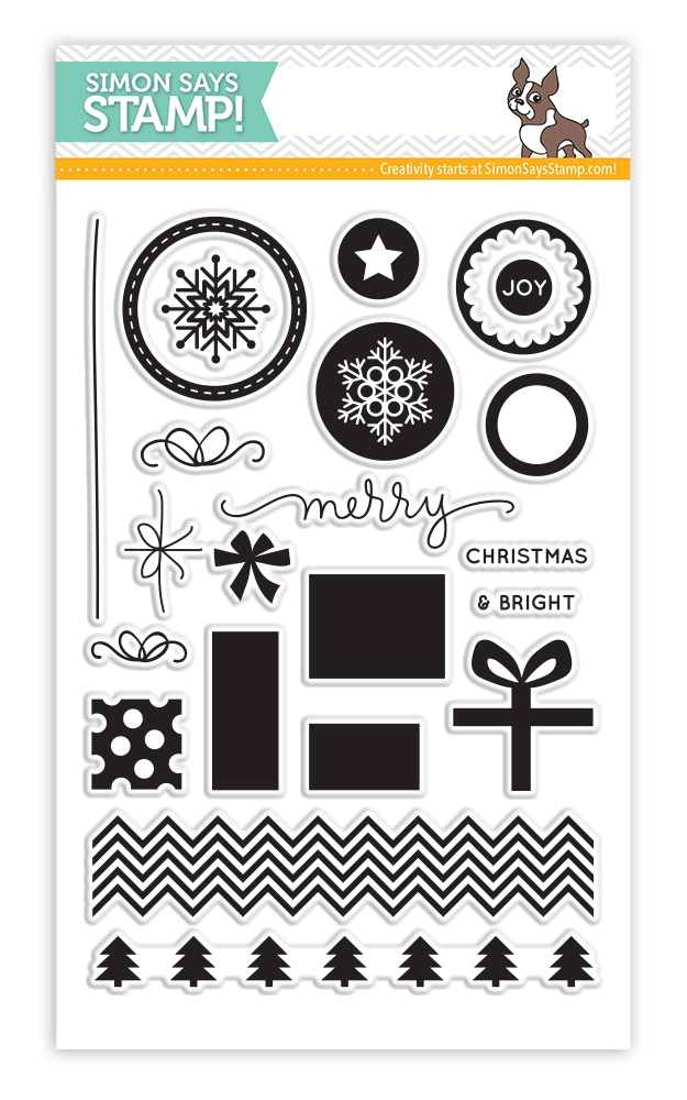 Simon Says Clear Stamps PRESENTS AND ORNAMENTS sss101441 * zoom image