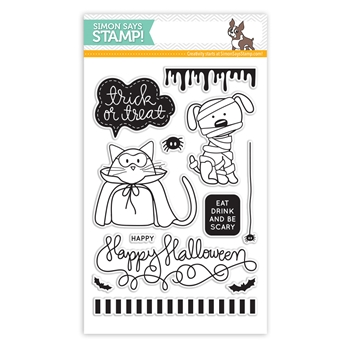 Simon Says Clear Stamps TRICK OR TREAT sss101444