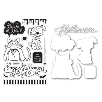 Simon Says Dies and Stamps Set COSTUMED PETS SetCP137