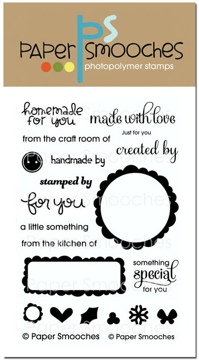 Paper Smooches JUST FOR YOU Clear Stamps SES222 zoom image