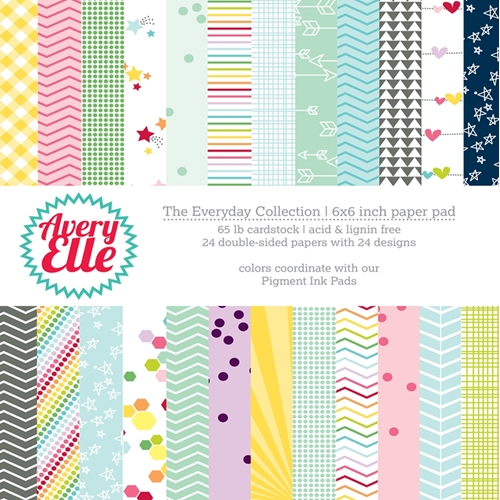 Avery Elle THE EVERYDAY COLLECTION 6x6 Paper Pad P-14-03 or 021518 Preview Image