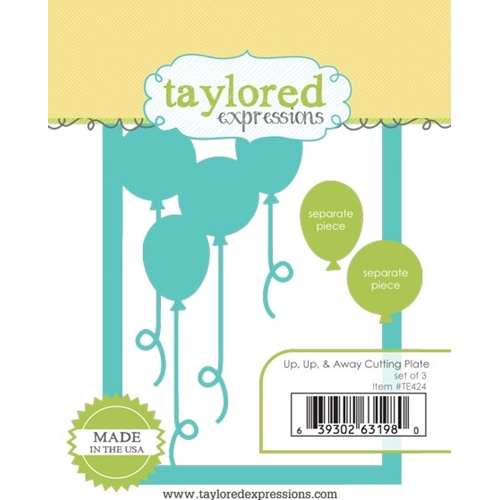 Taylored Expressions UP UP and AWAY Cutting Plate Die Set TE424 Preview Image