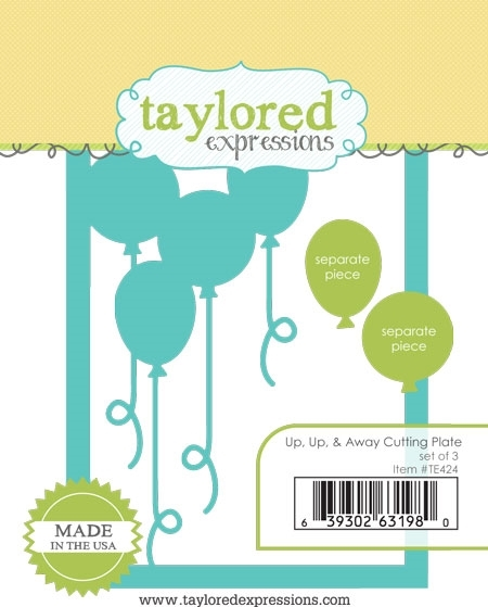 Taylored Expressions UP UP and AWAY Cutting Plate Die Set TE424 zoom image