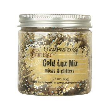 Stampendous GOLD LUX MIX Micas and Glitters FRL02