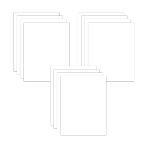 Simon Says Stamp CUSTOM COPIC FRIENDLY WHITE CARDSTOCK 12 Pack SSSCopic14 Preview Image