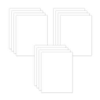 Simon Says Stamp CUSTOM COPIC FRIENDLY WHITE CARDSTOCK 12 Pack