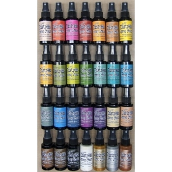 Tim Holtz DISTRESS SPRAY STAIN SET OF 28 Ranger DSS28