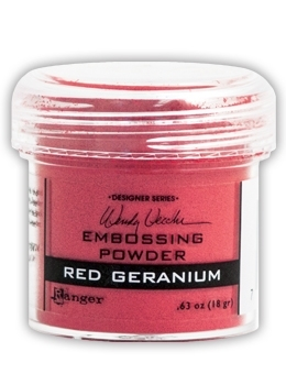 Ranger Wendy Vecchi Embossing Powder RED GERANIUM WEP43911 Preview Image