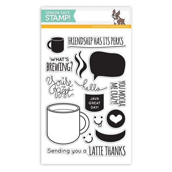 Simon Says Clear Stamps WHAT'S BREWING sss101480