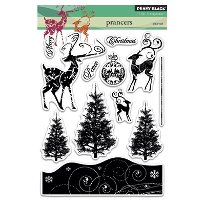 Penny Black Clear Stamps PRANCERS 30-258 Preview Image