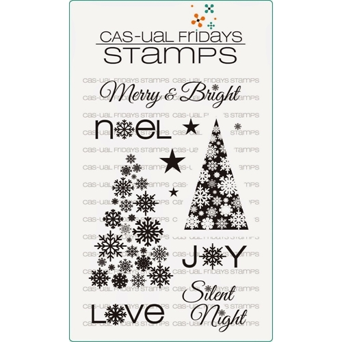 CAS-ual Fridays SNOWFLAKE SPLENDOR Clear Stamps CFSS14009* Preview Image