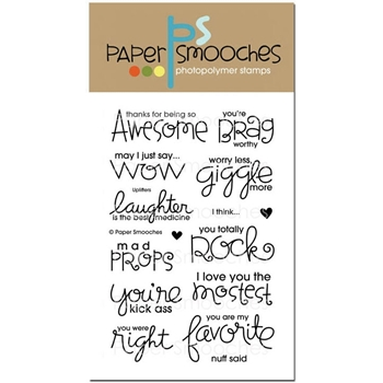 Paper Smooches UPLIFTERS Clear Stamps OCS224