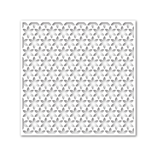 Simon Says Stamp Stencil FLOWER PATTERN ssst121366 Cold Hands Warm Heart Preview Image