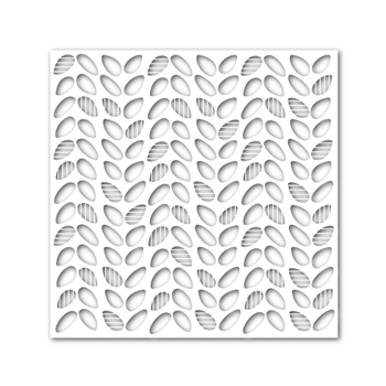 Simon Says Stamp Stencil SCREENED LEAVES ssst121367 Cold Hands Warm Heart *