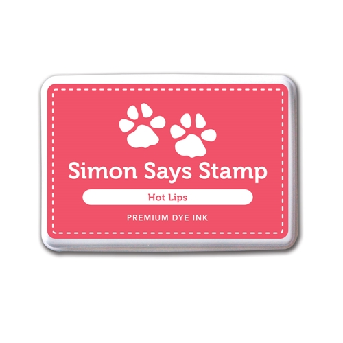 Simon Says Stamp Premium Dye Ink HOT LIPS ink033 Preview Image