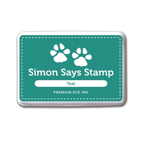 Simon Says Stamp Premium Dye Ink Pad TEAL INK034 Preview Image
