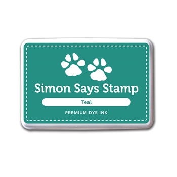 Simon Says Stamp Premium Dye Ink Pad TEAL INK034