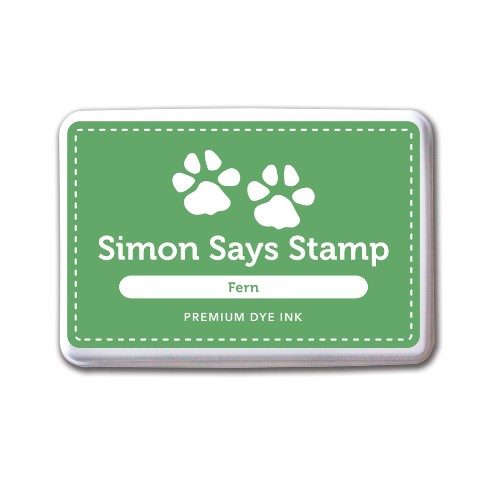 Simon Says Stamp Premium Dye Ink Pad FERN Green