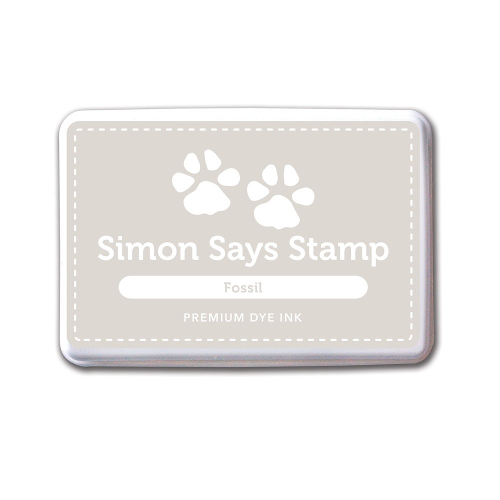 Simon Says Stamp Dye Ink Pad FOSSIL