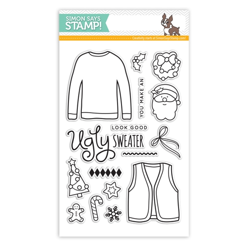 Simon Says Clear Stamps UGLY SWEATER sss101465 Preview Image