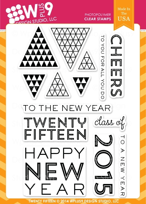 Wplus9 TWENTY FIFTEEN Clear Stamps CL-WP9TF* zoom image