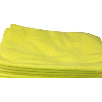 Microfiber YELLOW Cleaning Cloth 924YE