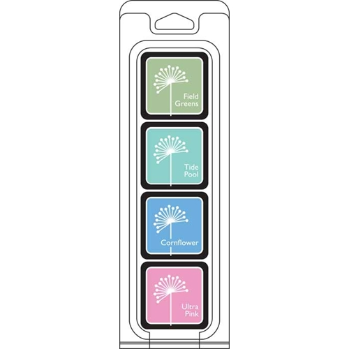 Hero Arts Mini Cube Ink Pads COOL 4 Pack AF298 Hello You  Preview Image