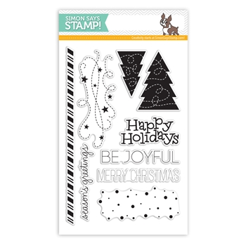 Simon Says Clear Stamps BE JOYFUL sss101481 *