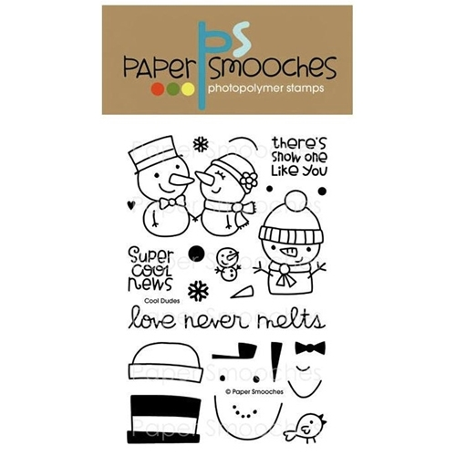 Paper Smooches COOL DUDES Clear Stamps NOS227 Preview Image