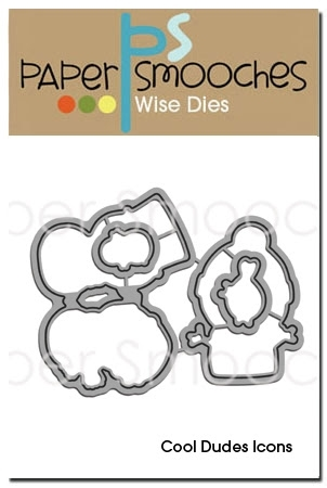 Paper Smooches COOL DUDES ICONS Wise Dies NOD172 Preview Image