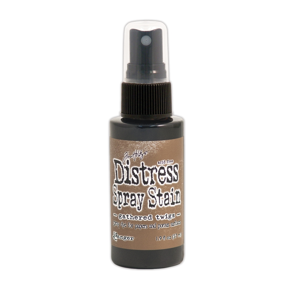 Tim Holtz Distress Spray Stain GATHERED TWIGS Ranger TSS42310 zoom image