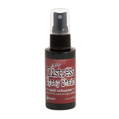 Tim Holtz Distress Spray Stain AGED MAHOGANY Ranger TSS42129 Preview Image