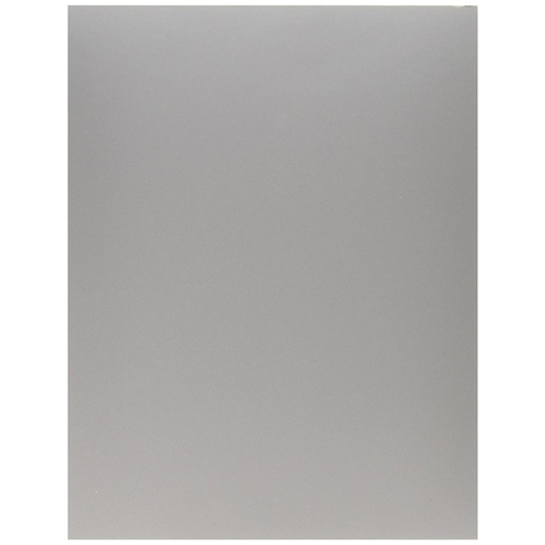 Bazzill SILVER METALLIC Heavy Weight 8.5 x 11 Cardstock 300290 Preview Image