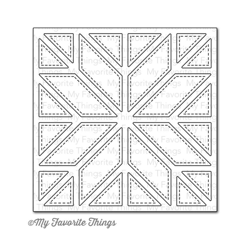 My Favorite Things QUILT SQUARE COVER UP Die-Namics MFT MFT556 Preview Image