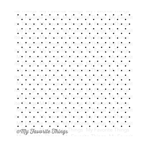 My Favorite Things SWISS DOTS Background Cling Stamp MFT BG27 Preview Image