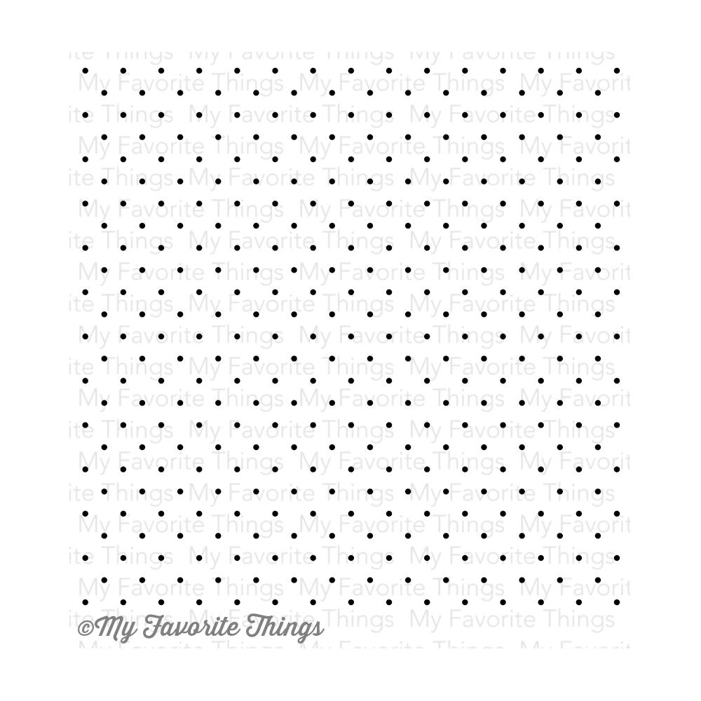 My Favorite Things SWISS DOTS Background Cling Stamp MFT BG27 zoom image