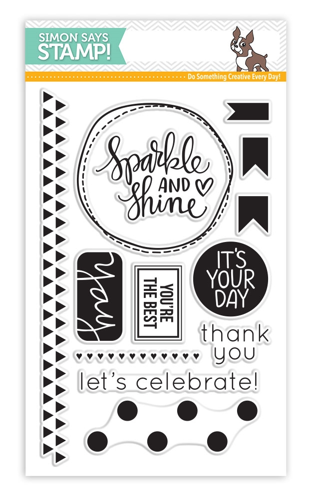 Simon Says Clear Stamps SPARKLE AND SHINE sss101487 zoom image