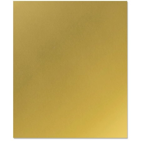Bazzill Gold Metallic Heavy Weight Card Stpck