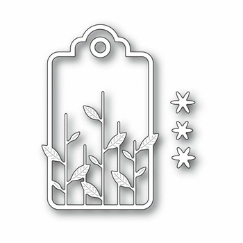 Simon Says Stamp GARDEN STEMS TAG Craft Dies s245 *