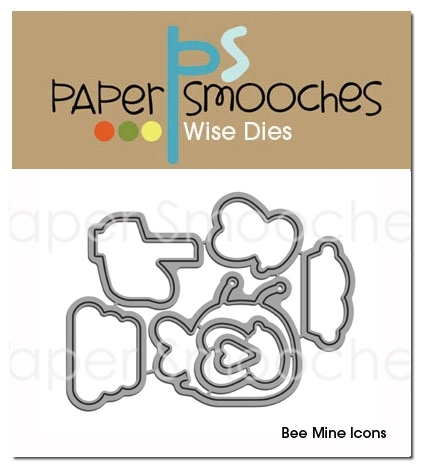 Paper Smooches BEE MINE ICONS Wise Dies DED185 Preview Image