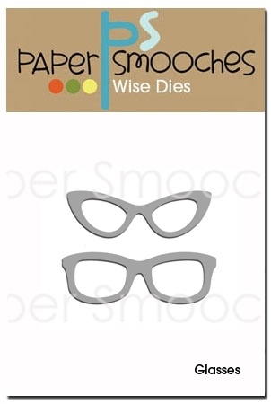 Paper Smooches GLASSES Wise Dies DED182 zoom image