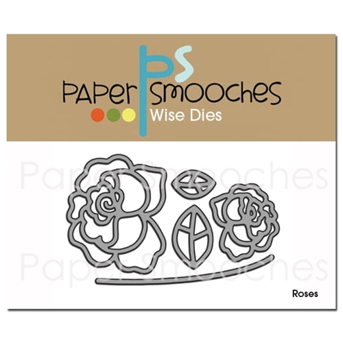 Paper Smooches ROSES Wise Dies DED186 Preview Image