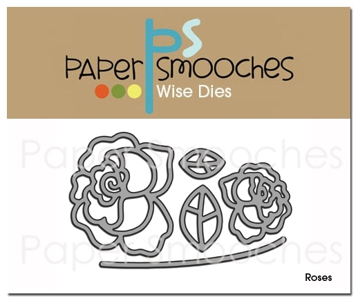 Paper Smooches ROSES Wise Dies DED186 zoom image