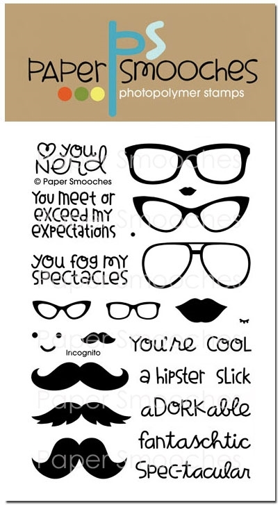 Paper Smooches INCOGNITO Clear Stamps DES233 zoom image