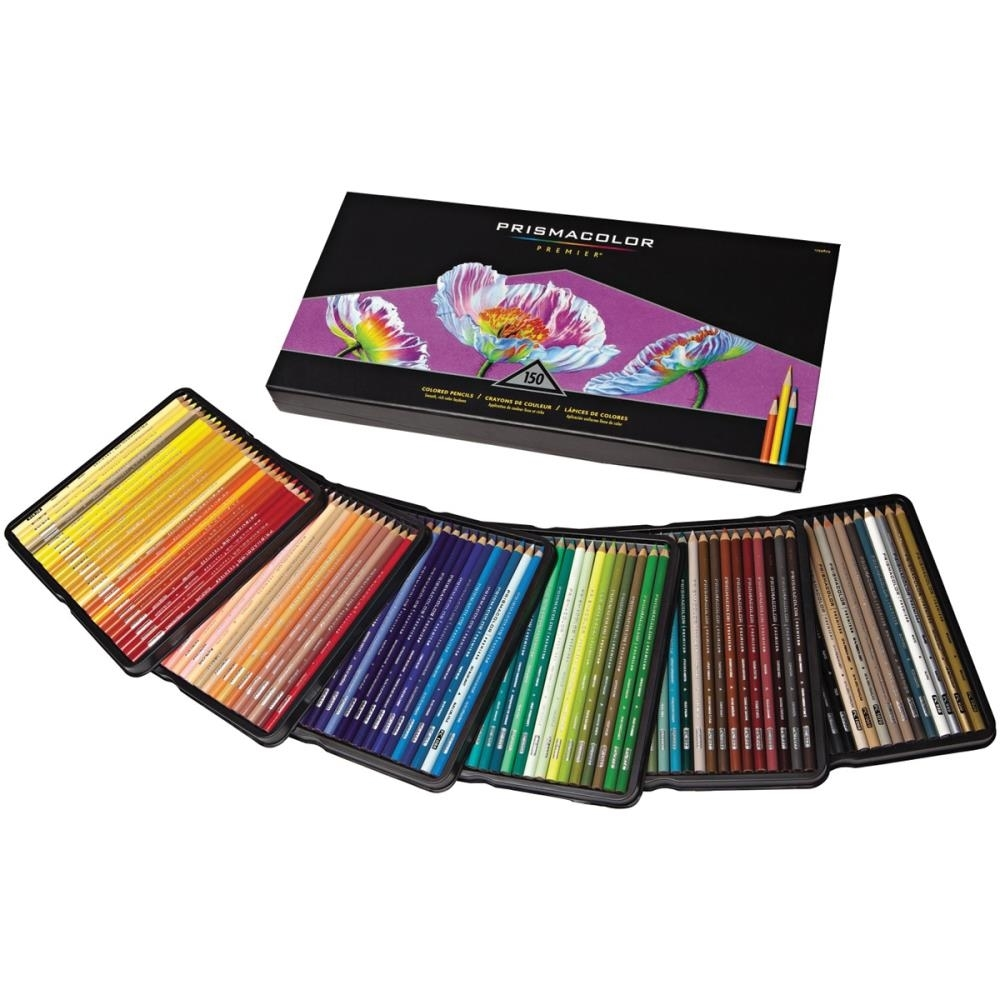 Prismacolor 150 PREMIER COLORED PENCILS Set 1799879